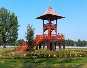 Whitney Viewing Stand, Saratoga Race Course
