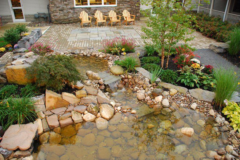 landscape architect donates meditation garden design