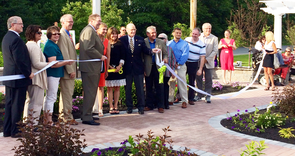 memorial garden in saratoga springs opens