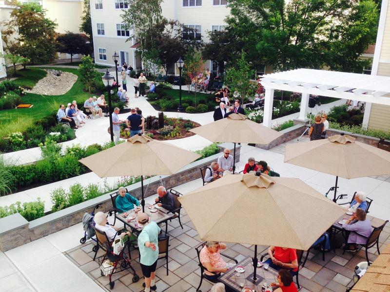 courtyard people crop