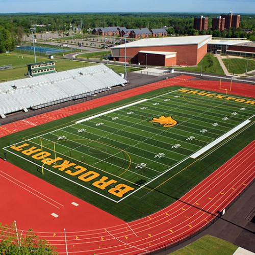 track and turf field design