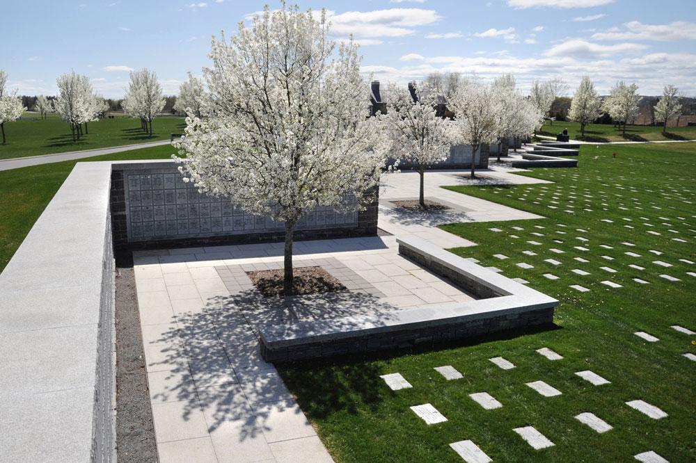 The LA Group VA Cemetery Design
